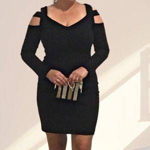 ⭐️host pick⭐️ Carolina Belle Black Cutout Dress Long Sleeve